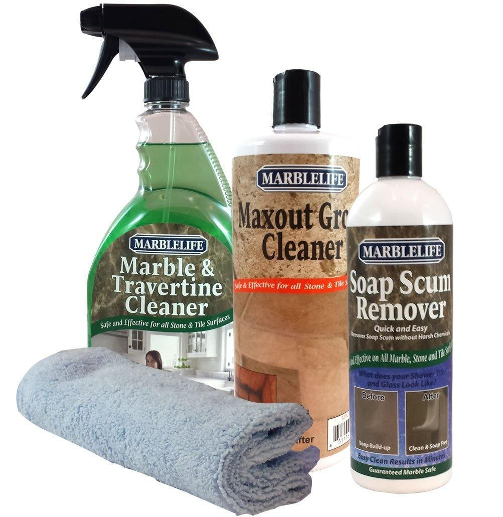 Attractive Marblelife Shower Cleaner. Our Recommended Marble Shower Cleaners