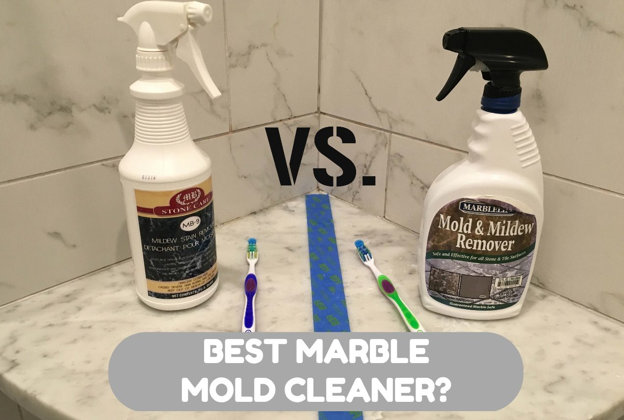 Blog The Marble Cleaner - Best product for shower mold